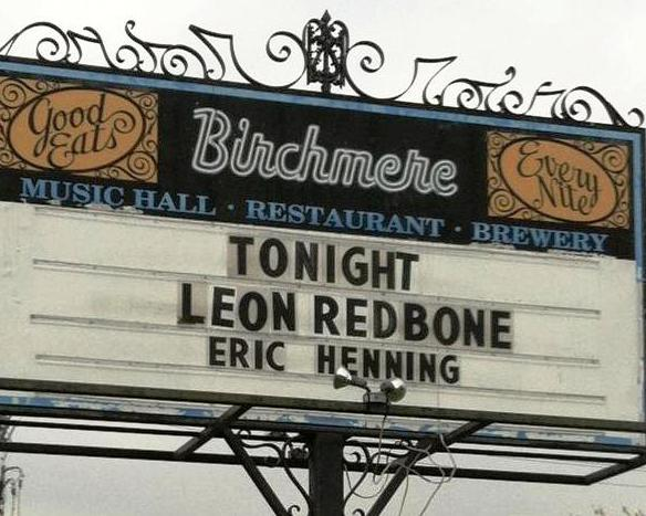 Eric Henning opening for Leon Redbone at The Birchmere