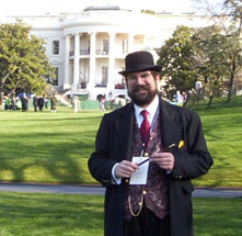 Eric Henning at the White House
